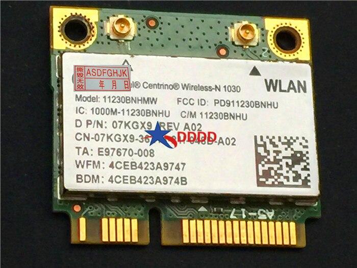 Original FOR Dell Inspiron N5110 WiFi Wireless n1030 Board Card 07KGX9  7KGX9 CN-07KGX9 fully tested