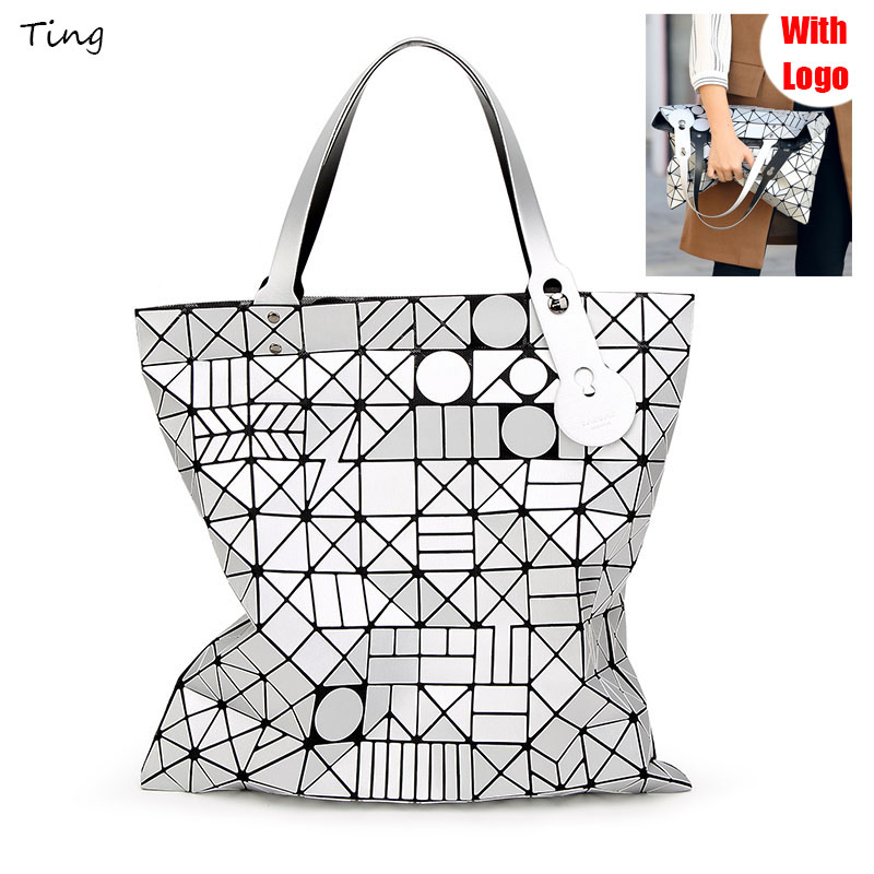 Bao Bao Issey big Shoulder bags for women 2017 luxury famous brand handbags designer miyake ladies hand bags large clutch bag