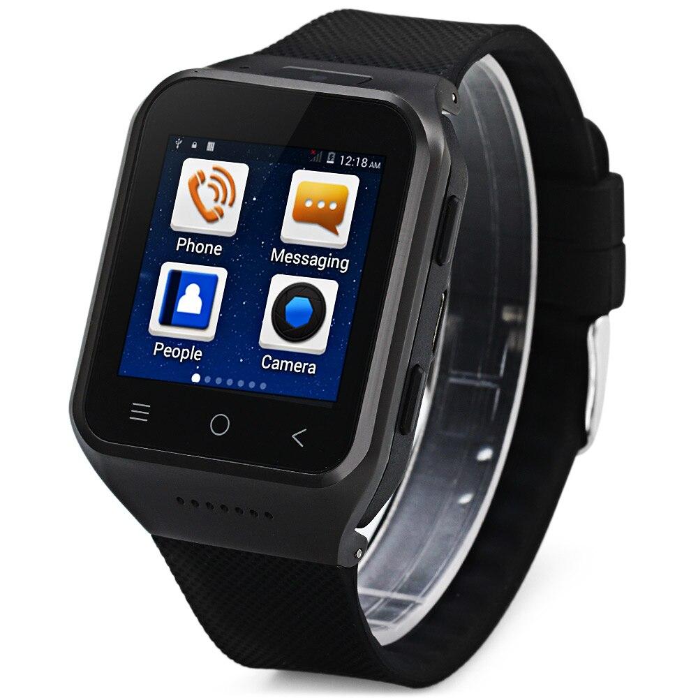Original ZGPAX S8 Smartphone Bluetooth Smart Watch Phone Android 4.4 MTK6572 GPS 2.0MP Camera WCDMA WiFi Smartwatch PK Q18 U8 цена