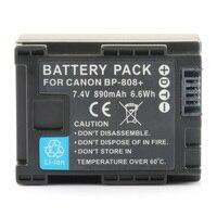LANFULANG Bateria para Canon BP-808 BP 808 e para Canon G10 HF M30 M32 M31 M300 M40 M400 M41 S100 S11 S10 S20 S30 S21 S200