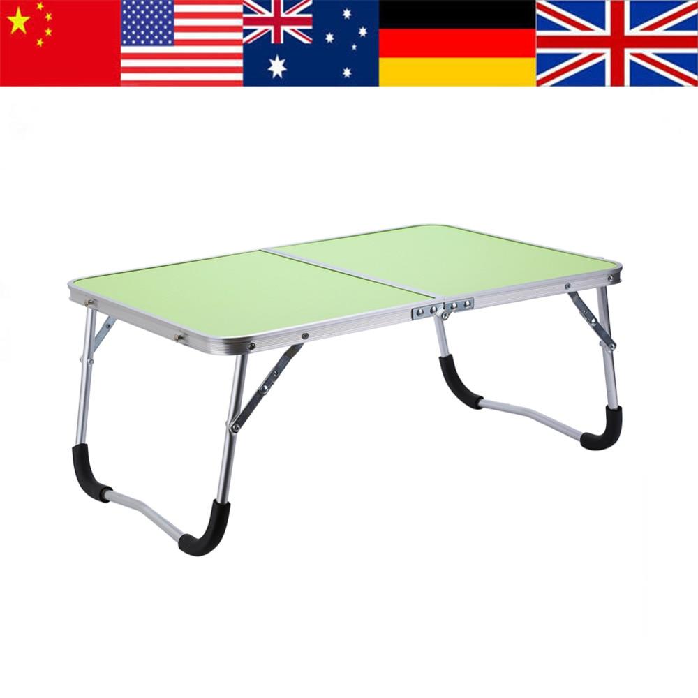Green Multifunctional Foldable Table Picnic Table Dormitory Bed Notebook  Desk Laptop Bed Tray Laptop Desk Mesa Plegable HotSale