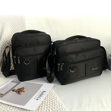 Men's Fashion Oxford Crossbody Bag Multifunctional Male Shoulder Messenger Bags Large Capacity Business Bolsa Masculina Black цена в Москве и Питере