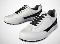 PGM עיצוב פטנט עור שכבה ראשונה זכר עמיד למים לנשימה נעלי גברים חיצוני ספורט עמיד נגד החלקה אחיזה טובה גולף נעל
