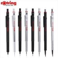 Rotring 600 0,5 мм/0,7 мм механический карандаш черный/серебристый металл автоматический карандаш Карандаш для рисования 1 шт