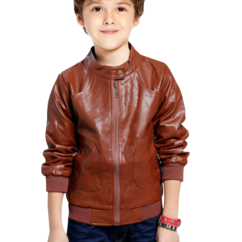 Leather jackets for children