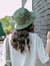 Green Color Bucket Hat Women Flat Hats Casual Outdoor Sports Hip Hop Cap Men Beach Summer Soft Fishing Sun Unisex Panama