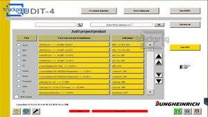 Image 5 - Dla Jungheinrich wózek widłowy Incado interfejs diagnostyczny USB przewód połączeniowy CF19 laptop Judit wózki widłowe narzędzie diagnostyczne