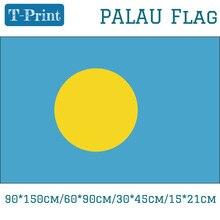 Free shipping Palau Flag 90*150cm/60*90cm/30*45cm/15*21cm