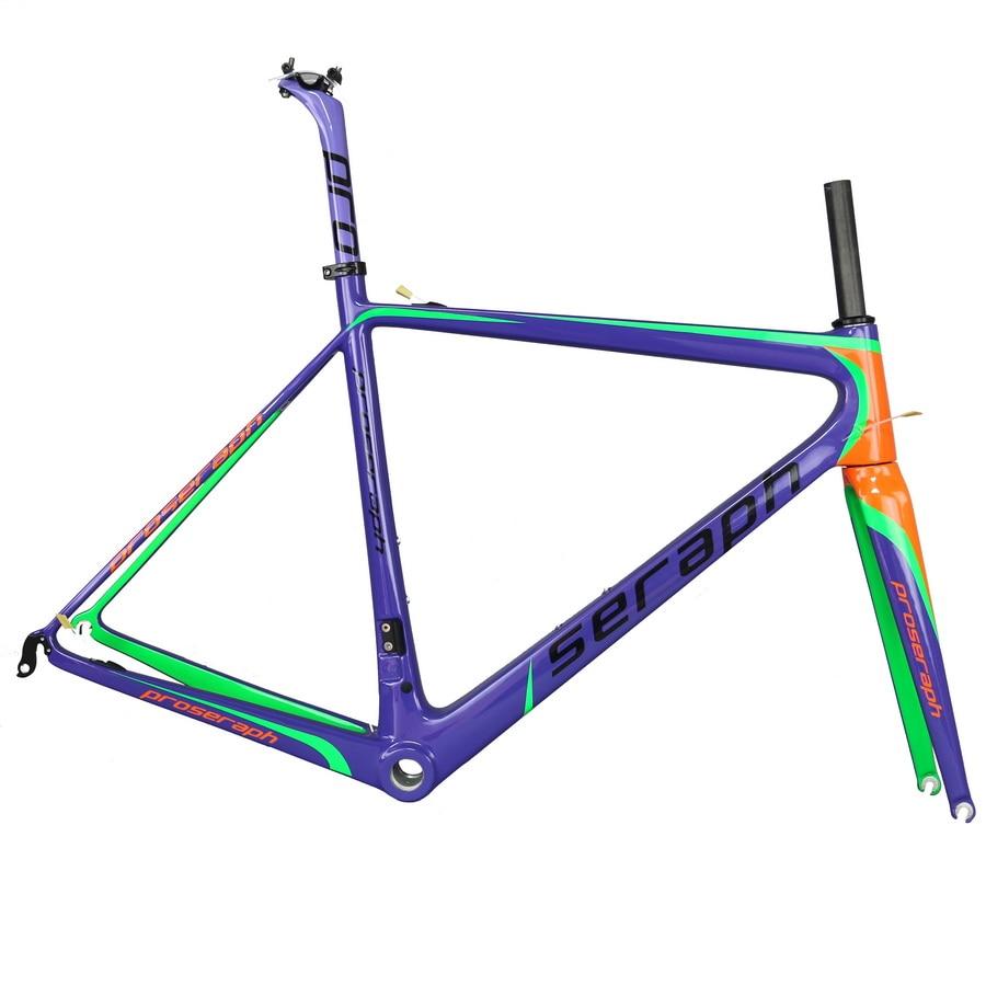 2019 Lightweight  SERAPH Toray Carbon Fiber  T1000 Road Cycling Frameset Di2 Road  Bicycle Frame Fm686