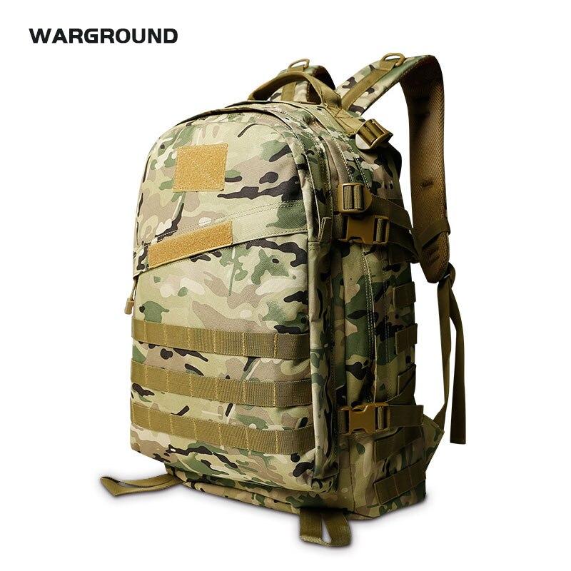 45L 3D sports de plein air militaire tactique sac à dos randonnée camping sac de plein air camouflage alpinisme sac à dos