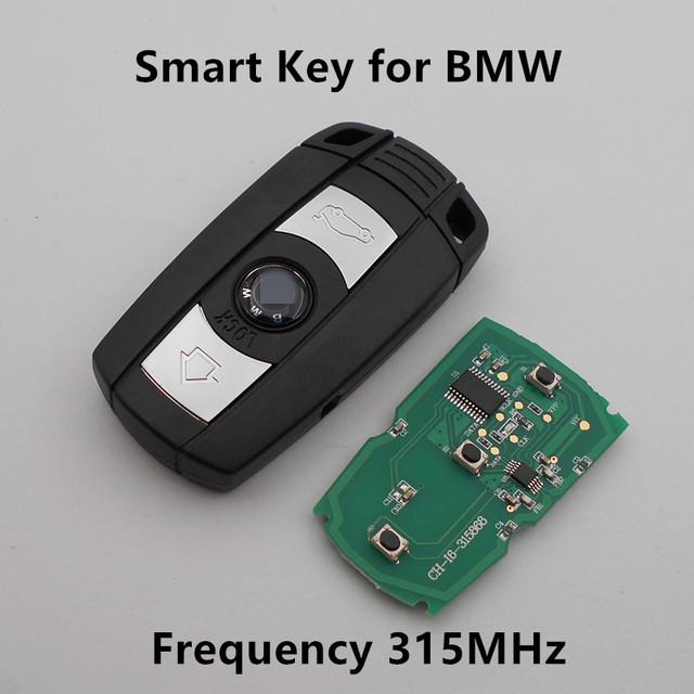 Smart Remote Car Key for BMW 1 3 5 6 series X1 X5 X6 Z4 315Mhz CAS3 System Keyless Entry Controller