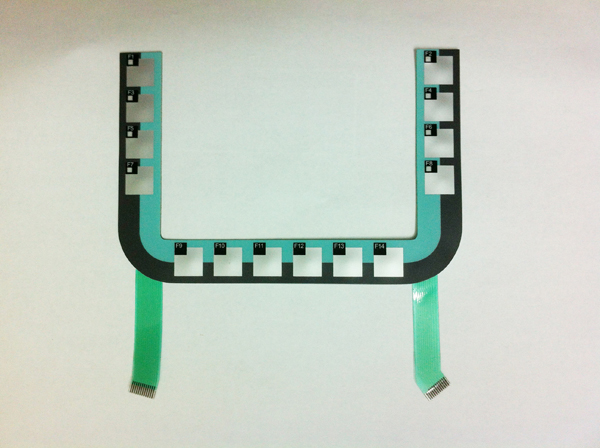 6AV6645-0AC01-0AX0 6AV6 645-0AC01-0AX0 Membrane Keypad For SIMATIC MOBILE PANEL 177 DP Repair Parts, HAVE IN STOCK цена