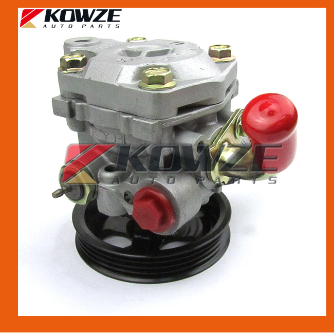 Power Steering Oil Pump Assy For Mitsubishi Pajero Montero Shogun II 3.0 3.5 L V6 6G72 6G74 MR267662 air inlet snorkel for mitsubishi pajero montero shogun 3 iii v73 2000 2006