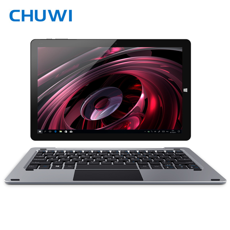 Original CHUWI Hi10 Plus Tablet PC Windows 10 Android 5.1 Intel Atom Z8350 Quad Core 4GB RAM 64GB ROM 10.8 Inch 1920X1280 2.0MP higole gole1 plus mini pc intel atom x5 z8350 quad core win 10 4g ram 64gb rom touch control rechargeable built in battery