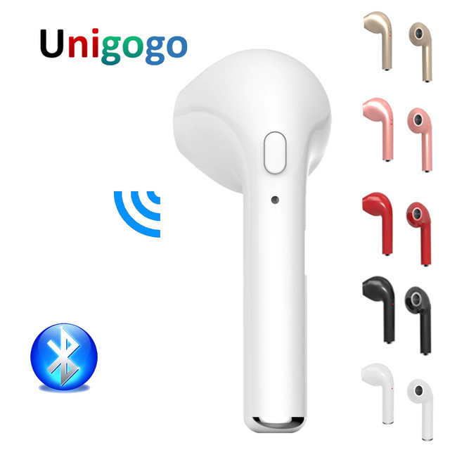 2533689f482 HBQ I7 Wireless Headphones Bluetooth Earphone In Ear Invisible Earbuds with  Mic for IPhone x 7 Plus 6s 6 8 SE Samsung S8 Xiaomi