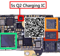CSD68813W10 Q2 IC Для 5S USB зарядки триод запасные части 4 pins