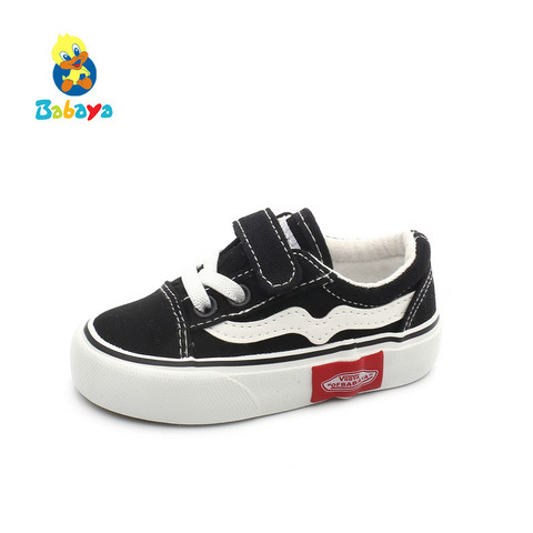 Babaya Baby Shoes Soft Bottom Baby Boy Casual Shoes 1-3 Years Old 2019 Spring Children Canvas Shoes Girls Walking Shoes Toddler Lahore