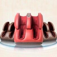 Новый массажер для ног массаж шиацу площади с подогревом Электрический массажер для ног устройства рефлекторный ноги машины, как видно на Т