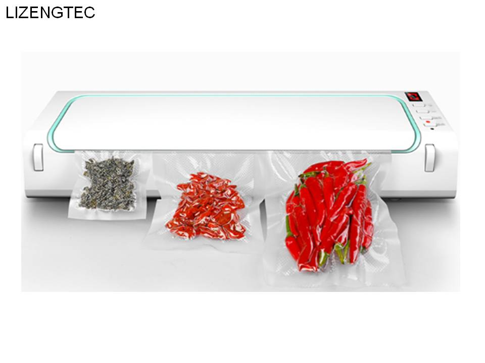 Free Shipping LIZENGTEC  New Design Fully Automatic Multi-function Vacuum Sealing Laminator for Home Fresh Packaging Machine