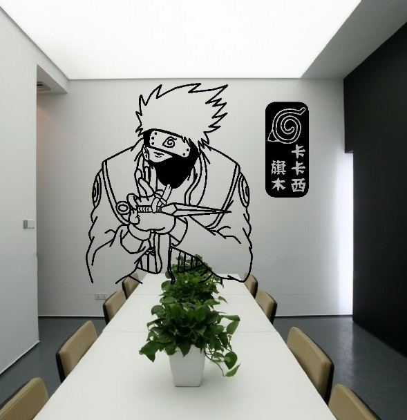 Online get cheap jepang wallpaper naruto for Mural naruto