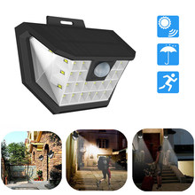 Rechargeable LED Solar Porch light Bulb PIR Motion Sensor Outdoor Garden Wall light Patio Yard Street Aisle Night Security lamp(China)