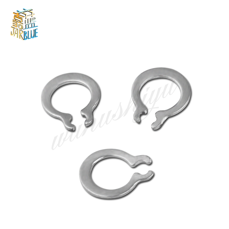 100Pcs DIN471 GB894 M3 M 4 M5 M6 Gourd Type Washer 304 Stainless Steel C-type Elastic Ring External Circlip Snap Retaining HW100 150pcs 8mm 26mm 304 stainless steel circlip retaining ring snap ring kit
