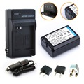 HIBTY 1 pcs 2000 mAh NP-FW50 FW50 NP NPFW50 Bateria Camera + carregador + carregador de carro plug para sony nex-3 nex-5c alpha A55