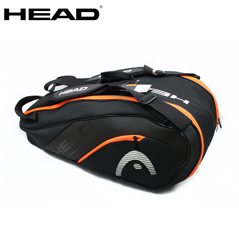 Original Head Tennis Bag Tennis Racket Bag Badminton Padel Tennis Racquet Bag For 6 9 Racquet
