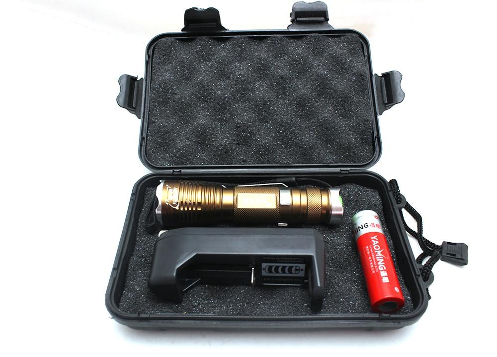 3800 lumen CREE XML T6 led mini lommelygte politi bærbar - Bærbar belysning