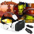 Original Bobovr Z4 gafas realidad Virtual Reality Glasses Bobo VR Z4 with Headphone for 4.7-6.2'' Smartphone + Bluetooth Gamepad