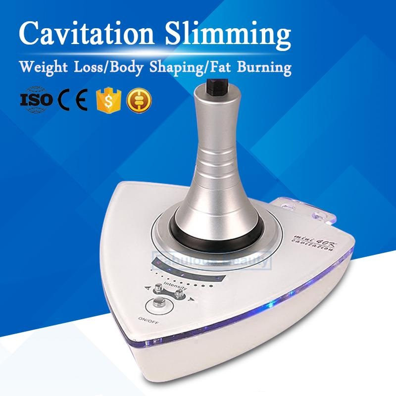 Strong Home Use 40Khz Ultrasound Cavitation Slimming Fat Burning Weight Loss Crack Cellulite Body Shaping Dissolve Fat Machine