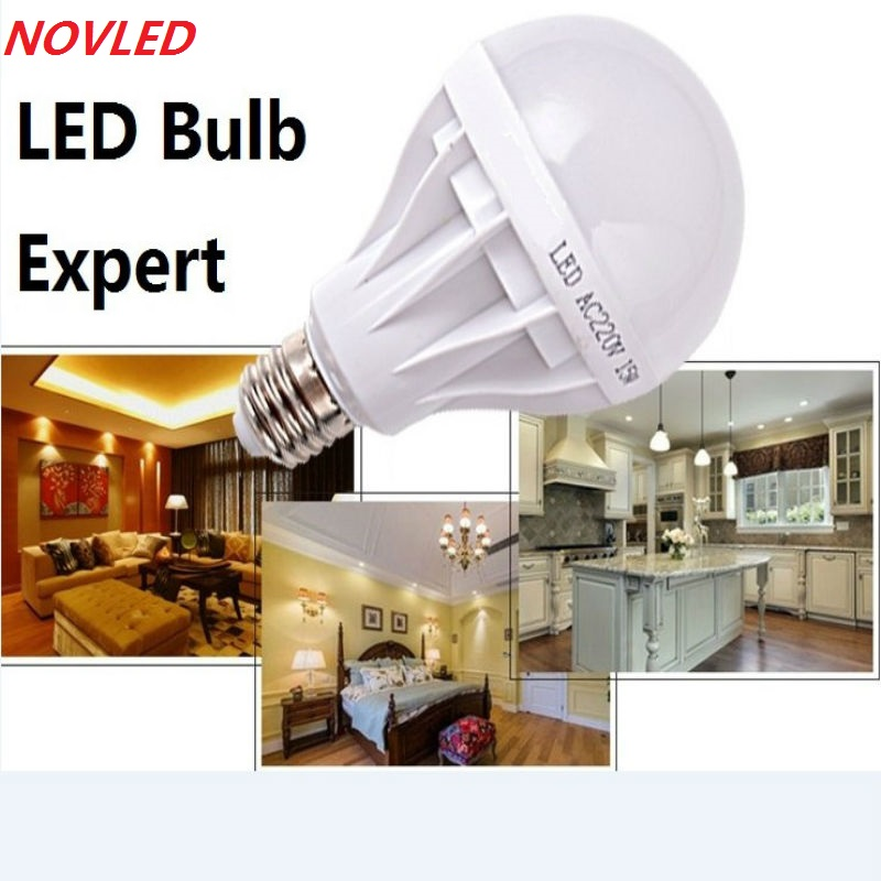 Высокая Мощность E27 Светодиодные Лампы 5730SMD 3 Вт 5 Вт 7 Вт 9 Вт 12 Вт 15 Вт 18 Вт 20 Вт 25 Вт 30 Вт СВЕТОДИОДНАЯ Лампа, 110 В 220 В Лампочки Для Дома Светодиодный Прожектор Лампы