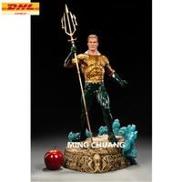 12 Justice League Statue Arthur Curry Bust Superhero Aquaman Full Length Portrait GK Action Figure Toy BOX 30 CM Z213