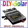 260 Вт сетевой инвертор  солнечный силовой инвертор вход DC22V ~ 50V выход AC90V ~ 140V или AC180V ~ 260 V  функция MPPT для панели 300W 36V