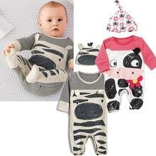Unisex Newborn Baby Boy Girl Sleepwear Pajama Babygrows Baby Rompers Playsuits