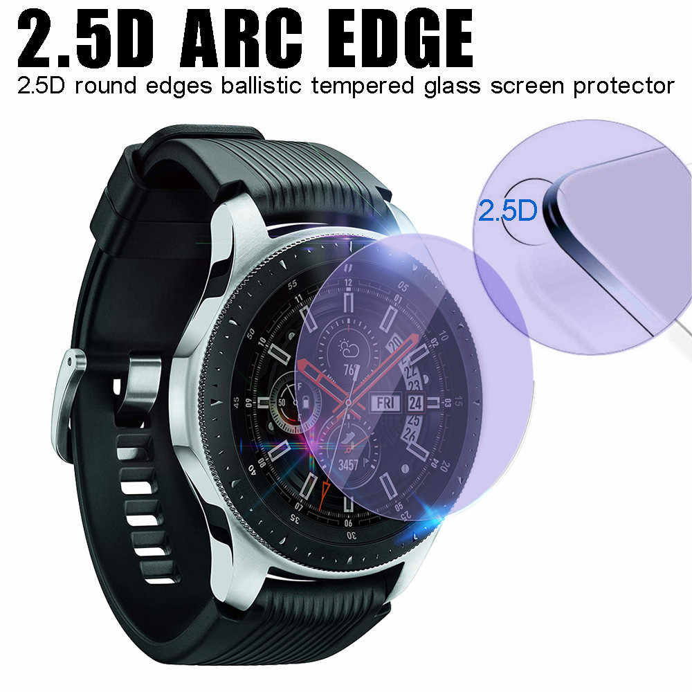3Pcs Transparent Anti Blue light Tempered Glass Screen ProtectorFor Samsung Galaxy Watch 46mm