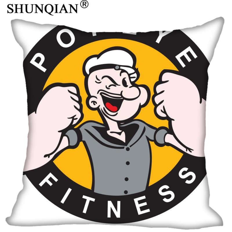 New Arrival popeye Pillowcases zipper Custom Pillow Case More Size Custom your image gift