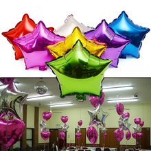 50 PCS Foil Baloons Valentine birthday Party decor Inflatable Balls Toys Air Balloons House Christmas Wedding Room Decoration