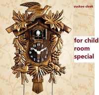 Cuckoo Clock Living Room Wall Clock Bird Cuckoo Alarm Clock Watch Modern Brief Children Unicorn Decorations Home Day Time Alarm