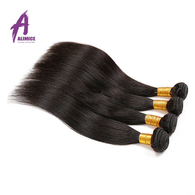 Malaysian Straight Hair 3 Bundles Malaysian Virgin Hair 7A Malaysian Straight Virgin Hair 3 Bundles Straight Human Hair Weave