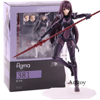 Fate Grand Order Lancer Scathach Figma 381 PVC Figma Fate Action Figure Collectible Model Toy