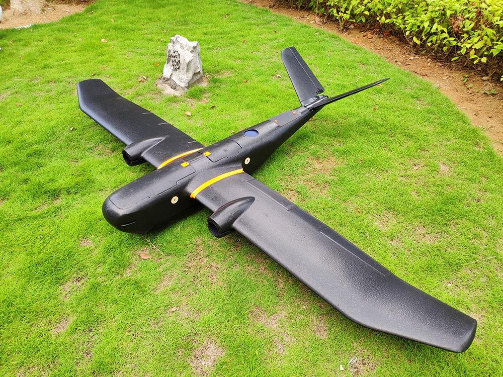 Skywalker TITAN 2160mm Wingspan EPO Aerial Aircraft Hand Cast Airplane (White/Black Shark)