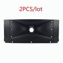 Finlemho Tweeter Speaker Accessories Treble Horn 280*116 Plastic 2PCS For Mixer Professional Audio Karaoke Home Theater T10  DJ