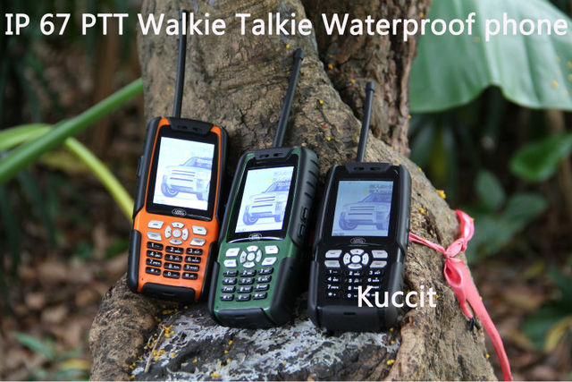 3800mah Original Ptt Walkie Talkie L8 Ip67 Rugged Waterproof Phone