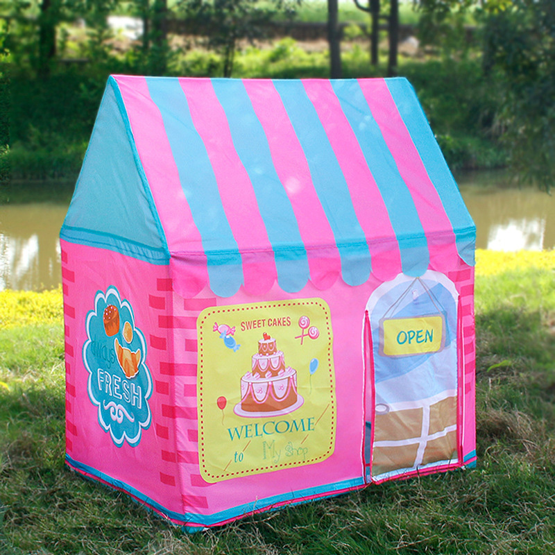 Play House Tent Castle Game Indoor Outdoor Kids Princess Childrens Toy Baby Girl