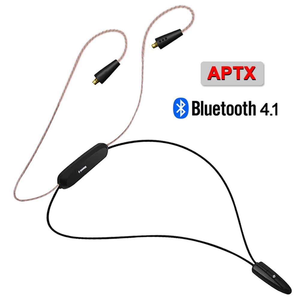 TRN BT3S/NICEHCK HB1 Bluetooth APT-X MMCX/2Pin/IE80 przewód łączący wsparcie IPX7 CSR8645 Chip APTX dla TRN V90 CCAC12 KZZS10 ZSX