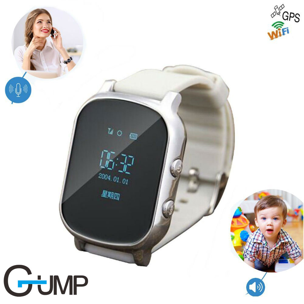Precise GPS Kids old man Smart Watch T58 support GPS WIFI SOS LBS Locate Finder emergency call GPS smartwatch T58 for child gift ds18 waterproof smart baby watch gps tracker for kids 2016 wifi sos anti lost location finder smartwatch for ios android pk q50