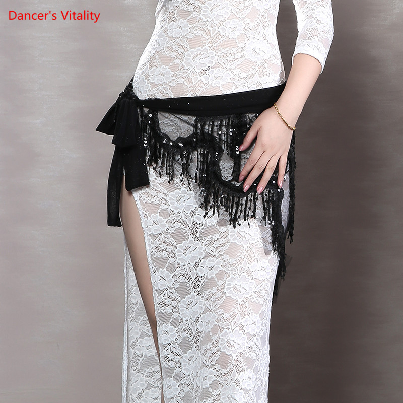 New Women Belly Dance Belt Performance Clothing Dance Clothes Under The Hip Scarf