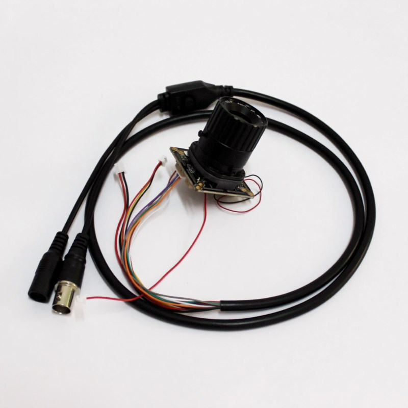 HD CCTV 3MP Low illumination AHD Camera Module Security 3.0mp PCB board mainboard with CS lens cable IRCUT