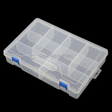 free shipping Thickened storage box Category Box Sealed bin Home case office DIY Chip box part Removable jewelry tool part box